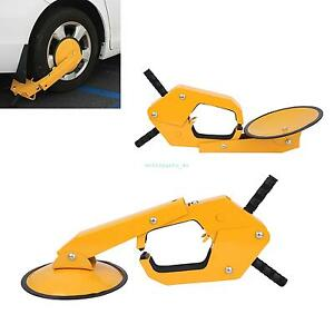 2pc Parking Boot Car Tire Claw Wheel Clamp Boat Rv Truck Trailer Lock Anti Theft
