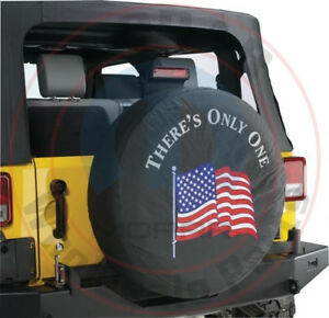 Jeep Wrangler There s Only One Spare Tire Cover 32 33 Inch New Oem Mopar