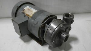 Ingersoll Rand Smp 1000 Stainless 4 Impeller Pump W 2hp Motor