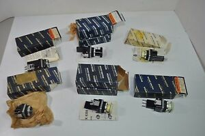 Lot Of 9 Honeywell Micro Switch Push Button Switches Pms Pmp Pmhd Pmhc Pmhg