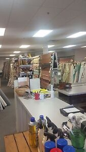 Fabric Store Upholstery drapery Inventory And Fixtures Only