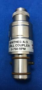 Microaire Synthes A o Drill Coupler Reference 4100 006