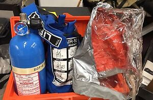 Lifeair Emergency Breathing System Carrying Case And Hood Included Apparatus