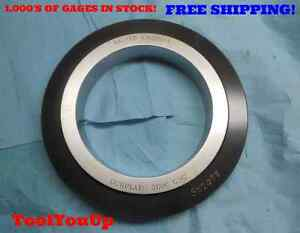 6 6265 Class X Master Smooth Plain Bore Ring Gage 6 5 8 625 0015 Overrsize