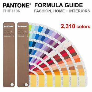 Pantone Fhip110n Fashion Home Interiors Fhi Color Guide 2 310 Colors New
