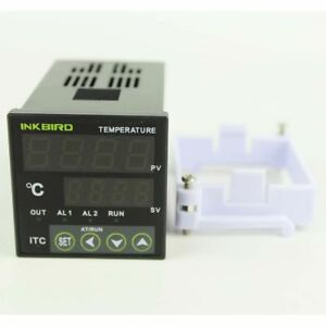 Itc 100vl Pid Digital Temperature Controller Thermostat 12v Control Heating Fan