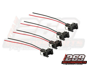 Ev1 Obd1 Injector Plug Connector Pigtails For Civic Acura Integra Eclipse Evo