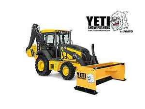 12 Yeti Abominable Backhoe Loader Snow Pusher
