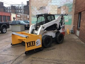 6 Yeti Snow Beast Low Profile Skid steer Snow Pusher