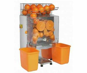 Electric Commercial Auto Feed Orange Lemon Squeezer Juicer Machine 22 25 0 mins