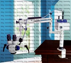 Ent Surgical Microscope portable Table Mount 3 Step Magnifications
