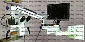 Dental Wall Mount Microscope manual 5 Step Long Light Source wd Accessories
