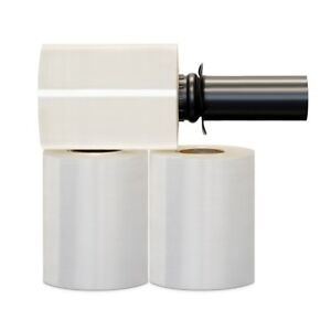 Stretch Wrap Extended Core 5 X 1000 X 90ga Free Black Spinning Handle 48 Rolls