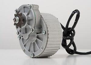 250 W 24 V Electric Brush Motor F Bicycle Ebike Gear Reduction 410 1 2 Gear