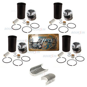Engine Overhaul Rebuild Kit For Gmc Chev Isuzu Npr Npr hd Nqr 4 8l 1998 2004
