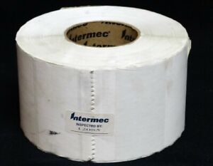 Intermec Direct Thermal 4 X 2 Transfer Paper Labels On 3 Core Roll New
