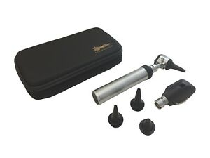 Brand New Ra Bock Diagnostic Ophthalmoscope Otoscope Kit In Tortoise Shell Case