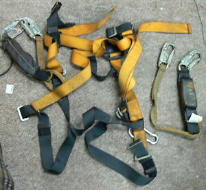 Titan By Miller T6111 3ftaf Full Body Safety Harness With Lanyard