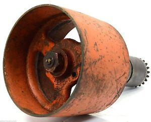 Vintage Tractor Pto Belt Pulley Drive Gear Assembly By Allis Chalmers u2671 2