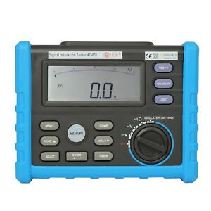 Mastech Ms5202 Megger High Precision Digital Insulation Resistance Tester Usa
