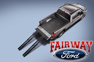 17 Thru 21 Super Duty F 250 F 350 Oem Ford Parts Stowable Bed Ramp Kit Dual 2