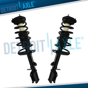 Pair Rear Strut Coil Spring Kit For 1993 2002 Toyota Corolla Chevy Geo Prizm