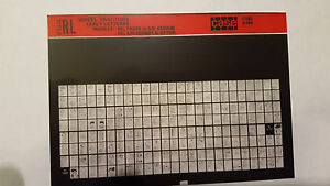 Case Parts Catalog Microfiche Tractor Early Letter Series Rc