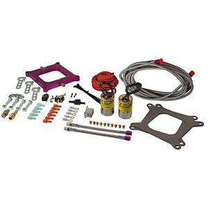 Zex 820401 Perimeter Plate Nitrous Kit 4150 Carb No Bottle 100 300 Hp