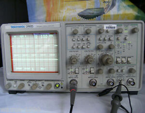 Used Original Oscilloscope Tektronix Tek2465 Tested