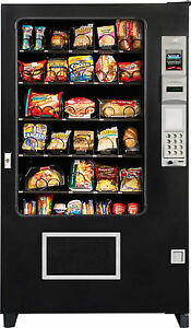 Cold Food Vending Machine Made By A M S With Coin Bill Acceptor brand New