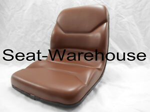 Brown Seat Fits Case Tlb Backhoe Loader 580c 580d 580e 580k 580l 580m no