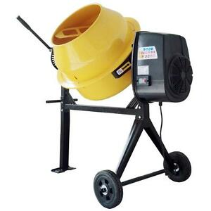 2 3 Hp Contractor Duty Cement And Concrete Mixer 3 5 Cu Ft