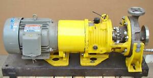 Blackmer 10 Hp 230 460 Volt 1x2 10 Stainless Centrifugal Pump Model Fr a
