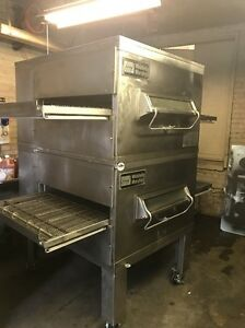 Middleby Marshall Ps200 Double Stack Conveyor Pizza Oven
