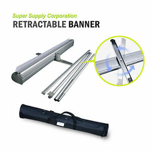 Professional Retractable Banner Roll Up Banner Stand Trade Show Signage Display
