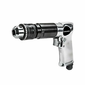 Steelman 1704 1 2 In Drive 800 Rpm Reversible Air Drill With Tease Throttle