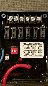 Ac dc Industries Battery Saver Delay Timer With 6 Fuse Panel Model Mzl 26