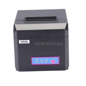 New 80mm 58mm Pos Dot Receipt Paper Barcode Thermal Printer Usb lan 300mm s