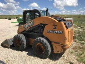 2013 Case Sv300 Skid Steer Loaders