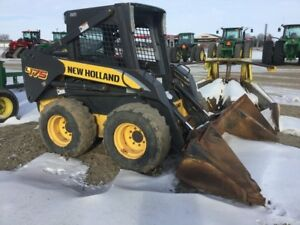 2010 New Holland L175 Skid Steer Loaders