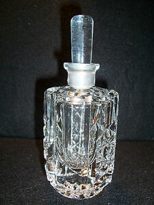 Antique Cut Glass Perfume Bottle American Brilliant 6 3 4 Dauber Intact