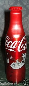CROATIA Hrvatska COCA COLA ALU BOTTLE  2016 EDITION Christmas Santa Claus - RARE