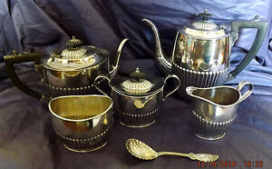 Sheffield A1 Silver Plate Tea Coffee Service 5 Pieces