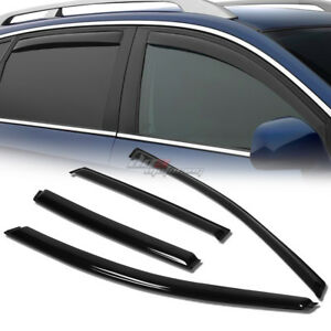 For 12 16 Honda Cr v Rm Smoke Tint Window Visor Shade vent Wind rain Deflector