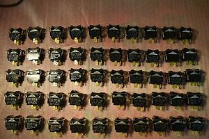 On off Switches 1 3 Hp 10 Amp 250 Volts 1 circuit Lot Of 50 Nob