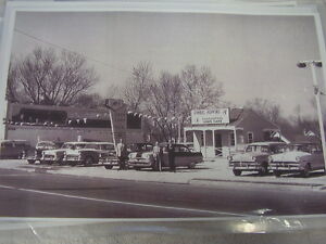 1950 S Ford Used Car Lot Glenside Pa Gimbel Hopkins 11 X 17 Photo Picture