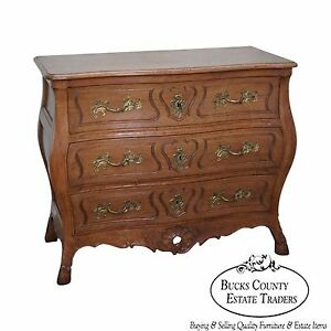Don Rousseau French Louis Xv Style Bombe Commode Chest Of Drawers