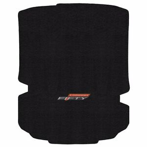 New Black Floor Mat 2016 2018 Camaro Embroidered 50th Fifty Anniversary Trunk