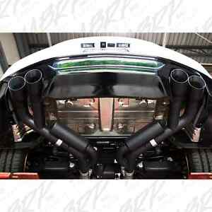 2016 2020 Chevy Camaro Ss Zl1 Mbrp Quad Tip Axle Back Exhaust System Black