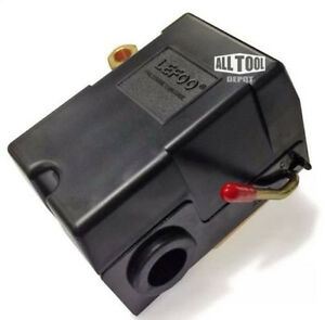 Lefoo Quality Air Compressor Pressure Switch Control 95 125 Psi 4 Port W Unload